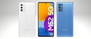 Samsung Galaxy M52 5G Manual / User Guide